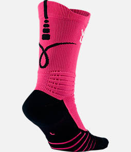 Unisex Nike Elite Versatility Kay Yow Basketball Crew Socks  Product Image