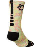 Men's Nike Kevin Durant Elite Digital Design Basketball Crew Socks