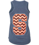 Women's Press Box Syracuse Orange College Chevron Drop Tank
