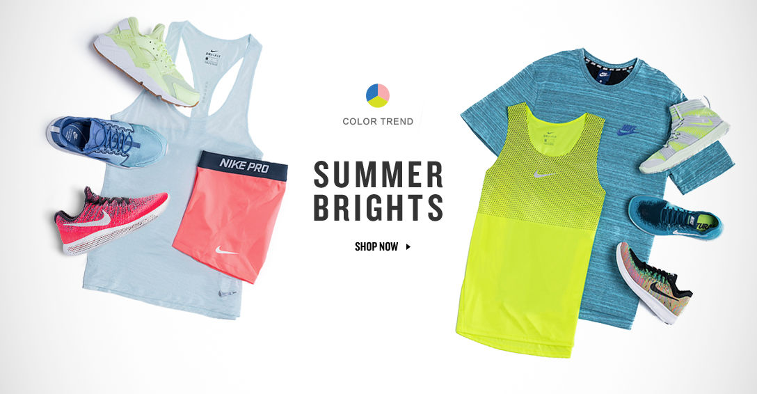 Summer Brights. Shop Now.
