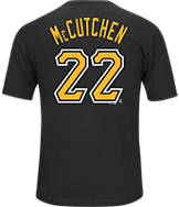 Men's Majestic Pittsburgh Pirates MLB Andrew McCutchen Name and Number T-Shirt