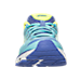 Front view of Women's Asics GT-1000 4 Running Shoes in Turquoise/Flash Yellow/Acai