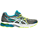 Right view of Women's Asics GEL-Flux 3 Running Shoes in Titanium/White/Enamel Blue