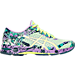 Right view of Women's Asics GEL-Noosa Tri 11 Running Shoes in Patina Green/Flash Yellow/Violet