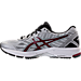 Left view of Men's Asics GT-1000 5 Running Shoes in White/Black/Red