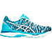 Right view of Women's Asics GEL-Cumulus 18 BR Running Shoes in Soothing Sea/Indigo Blue/Blue Ribbo