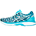 Left view of Women's Asics GEL-Cumulus 18 BR Running Shoes in Soothing Sea/Indigo Blue/Blue Ribbo