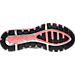 Bottom view of Men's Asics Gel-Quantum 360 2 Running Shoes in Black/White/Green Gecko