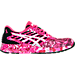 Right view of Women's Asics FuzeX PR Running Shoes in Pink Glow/White/Pink Ribbon