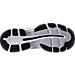 Bottom view of Men's Asics Gel-Nimbus 19 Running Shoes in Black/Onyx/Silver