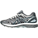 Left view of Men's Asics Gel-Nimbus 19 Running Shoes in Carbon/White/Silver