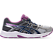 Right view of Women's Asics GEL-Contend 4 Running Shoes in Silver/Campanula/Carbon