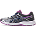 Left view of Women's Asics GEL-Contend 4 Running Shoes in Silver/Campanula/Carbon