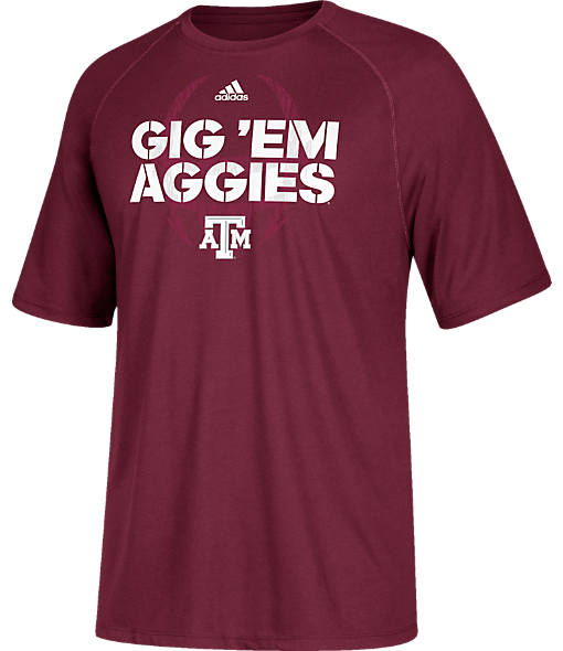 Men's adidas Texas A&M Aggies College Sideline Mantra T-Shirt