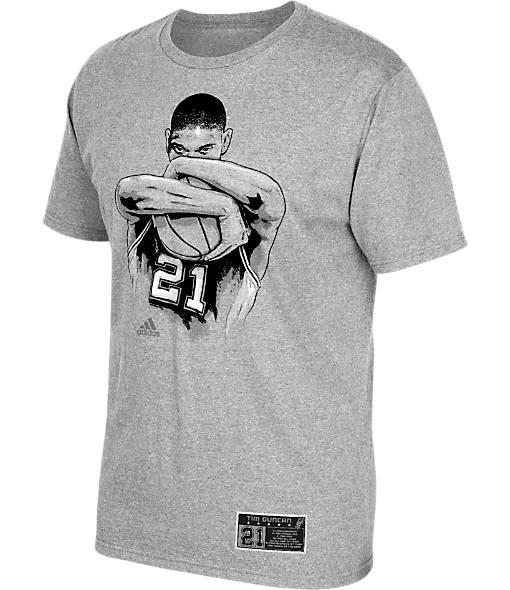 Men's adidas San Antonio Spurs NBA Tim Duncan Embrace T-Shirt