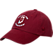 Front view of Top of the World Indiana Hoosiers College Adjustable Cap in Team Colors