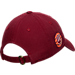 Back view of Top of the World Indiana Hoosiers College Adjustable Cap in Team Colors