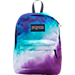 Front view of JanSport High Stakes Backpack in Multi Water Ombre