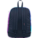 Back view of JanSport High Stakes Backpack in Multi Water Ombre