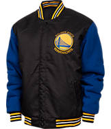 Men's JH Design Golden State Warriors NBA Reversible Varsity Champ Jacket