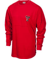 Women's Press Box Texas Tech Red Raiders College Sweeper Shirt