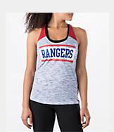 Women's New Era Texas Rangers MLB Space Dye Tank