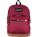 Front view of JanSport Right Pack Backpack in Russet Red