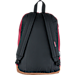 Back view of JanSport Right Pack Backpack in Russet Red