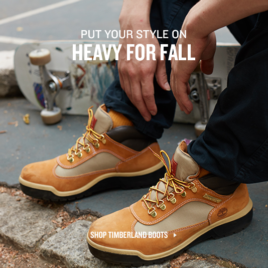 Put Your Style On Heavy For Fall. Shop Timberland Boots.
