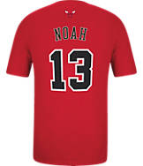 Men's adidas Chicago Bulls NBA Joakim Noah Name and Number T-Shirt