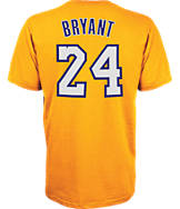 Men's adidas Los Angeles Lakers NBA Kobe Bryant Name and Number T-Shirt