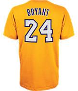 Men's adidas Los Angeles Lakers NBA Kobe Bryant Name and Number T-Shirt
