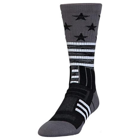 Boys' Under Armour Stars & Stripes Unrivaled Crew Socks