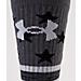 Alternate view of Boys' Under Armour Stars & Stripes Unrivaled Crew Socks in Black