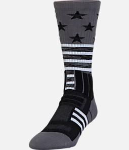 Men's Under Armour Stars & Stripes Unrivaled Crew Socks Product Image