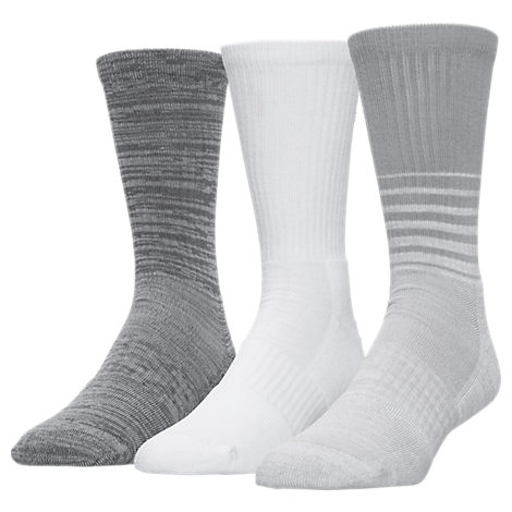 Men's Under Armour SC30 Phenom Twisted 3-Pack Crew Socks