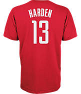 Men's adidas Houston Rockets NBA James Harden Name and Number T-Shirt