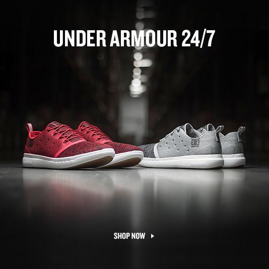 Under Armour 24/7. Shop Now.