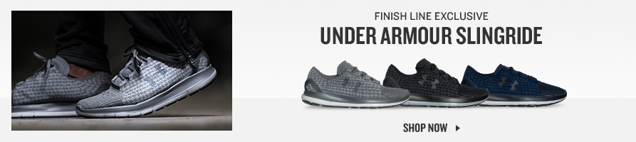 Finish Line Exclusive. Under Armour Slingride. Shop Now.