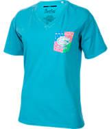 Women's Press Box Florida Gators College Patchwork V-Neck T-Shirt