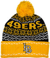 Top Of The World Long Beach State 49ers College Ugly Sweater Knit Hat