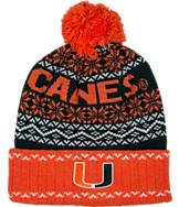 Top Of The World Miami Hurricanes College Ugly Sweater Knit Hat
