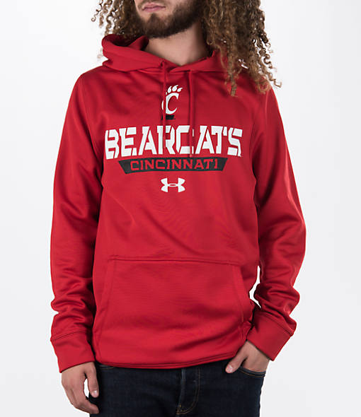 Men's Under Armour Cincinnati Bearcats College Poly Fleece Hoodie