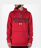 Men's Under Armour Texas Tech Red Raiders College Poly Fleece Hoodie