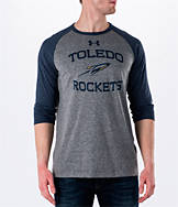 Men's Under Armour Toledo Rockets College Charged Tri-Blend Henley Shirt