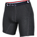 Back view of Men's Ethika Staple Boxer Briefs in Heather/Black