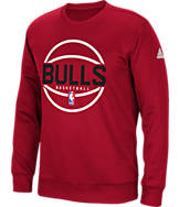 Men's adidas Chicago Bulls NBA New Ball Crew Sweatshirt