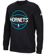 Men's adidas Charlotte Hornets NBA New Ball Crew Sweatshirt