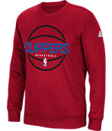 Men's adidas Los Angeles Clippers NBA New Ball Crew Sweatshirt
