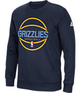 Men's adidas Memphis Grizzlies NBA New Ball Crew Sweatshirt
